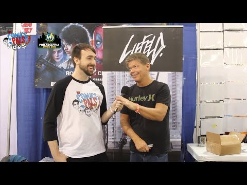 Rob Liefeld Interview | The Comics Pals @ Wizard World Philadelphia 2017