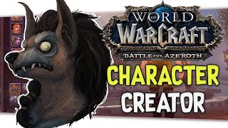 "👶🏼""World of Warcraft"" Character Creation Review 