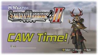 Samurai Warriors 4-II: Creating a Warrior! (CAW)
