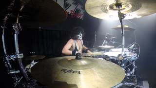 KISS Forever Band Radek Cam God of Thunder and Drum Solo 30.April 2015 Landshut Alte Kaserne