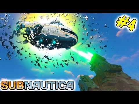 Subnautica #4 Помощи не будет. Огромная Инопланетная пушка уничтожила Космический корабль от FGTV