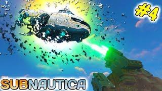 Subnautica 4 Помощи не будет. Огромная Инопланетная пушка уничтожила Космический корабль от FGTV