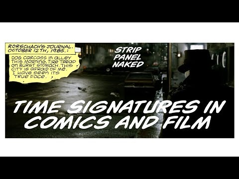 Time Signatures in Comics and Film | Watchmen & Sin City | Strip Panel Naked