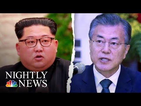 Kim Jong Un To Become First North Korean Leader To Enter South Korea | NBC Nightly News