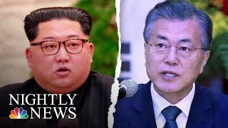 Kim Jong Un To Become First North Korean Leader To Enter South Korea   NBC Nightly News