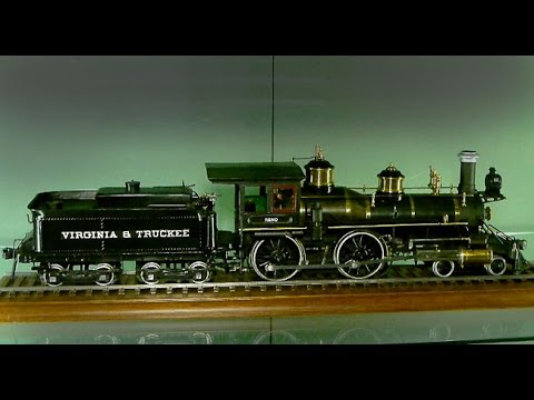 Virginia And Truckee locomotives in 1/2 inch scale