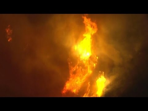 California wildfire has burned 20,000 acres so far