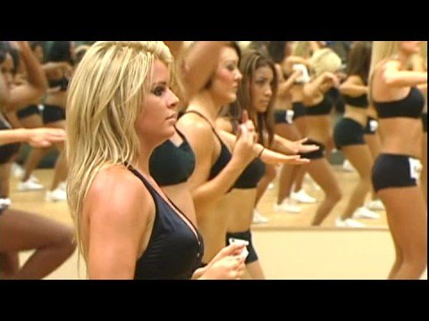 Making Of The 2008-2009 Mavs Dancers - Part 1