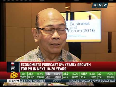 8% annual GDP growth for PH seen in next 10-20 years