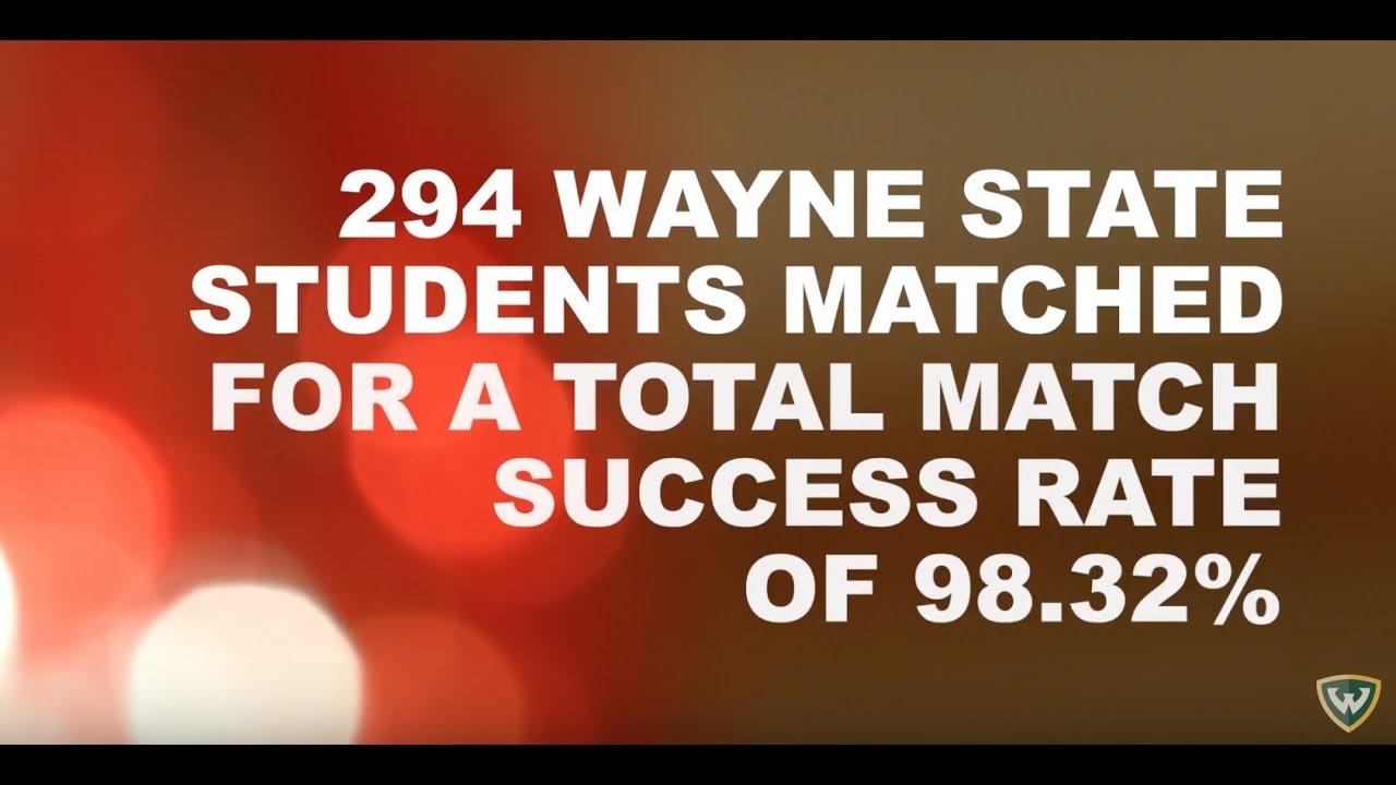 Match Day 2018 - School of Medicine - Wayne State University