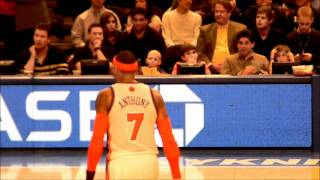 Carmello cursing out brandon jennings