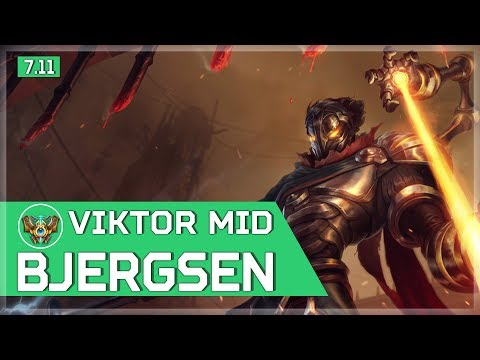 487. Bjergsen - Viktor vs Anivia - Mid - June 12th, 2017 - Patch 7.11 Season 7