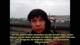 Odessa-Pogrom: Augenzeugin erzählt von ihren Erlebnissen