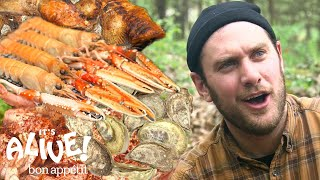 Download lagu Brad Makes Campfire Seafood | It's Alive | Bon Appétit