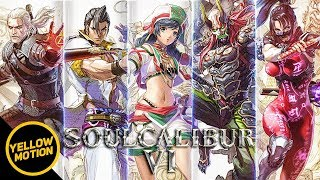 SOULCALIBUR VI | All 14 Character Trailers TALIM / MAXI / YOSHIMITSU / TAKI / GERALT / IVY & More!