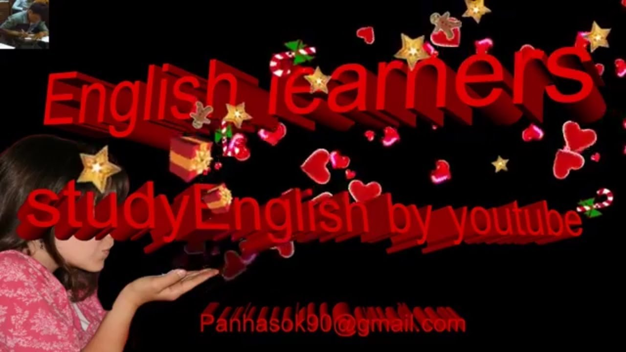 English Learners by YouTube ,some English words ,English pictures