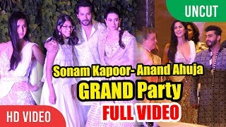 Sonam Kapoor Anand Ahuja GRAND Wedding Party | FULL VIDEO | Mehndi & Sangeet Ceremony
