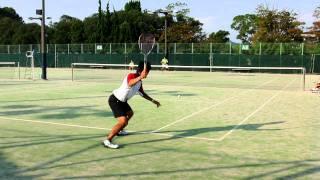 滋賀県ソフトテニスの日2011 乱打 鹿島選手(ヨネックス) thumbnail