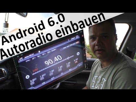 Android Radio 6.0 2DIN einbauen und kabel richtig anschließen am Skoda Superb