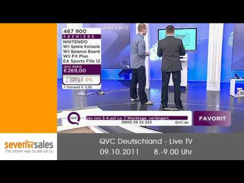 QVC - Wii Fit Plus am 09.10.2011 um 8 Uhr - YouTube