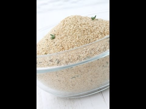 How To Make Seasoned Bread Crumbs