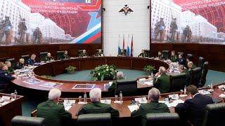 Заседание Коллегии Минобороны России (12.04.2017)