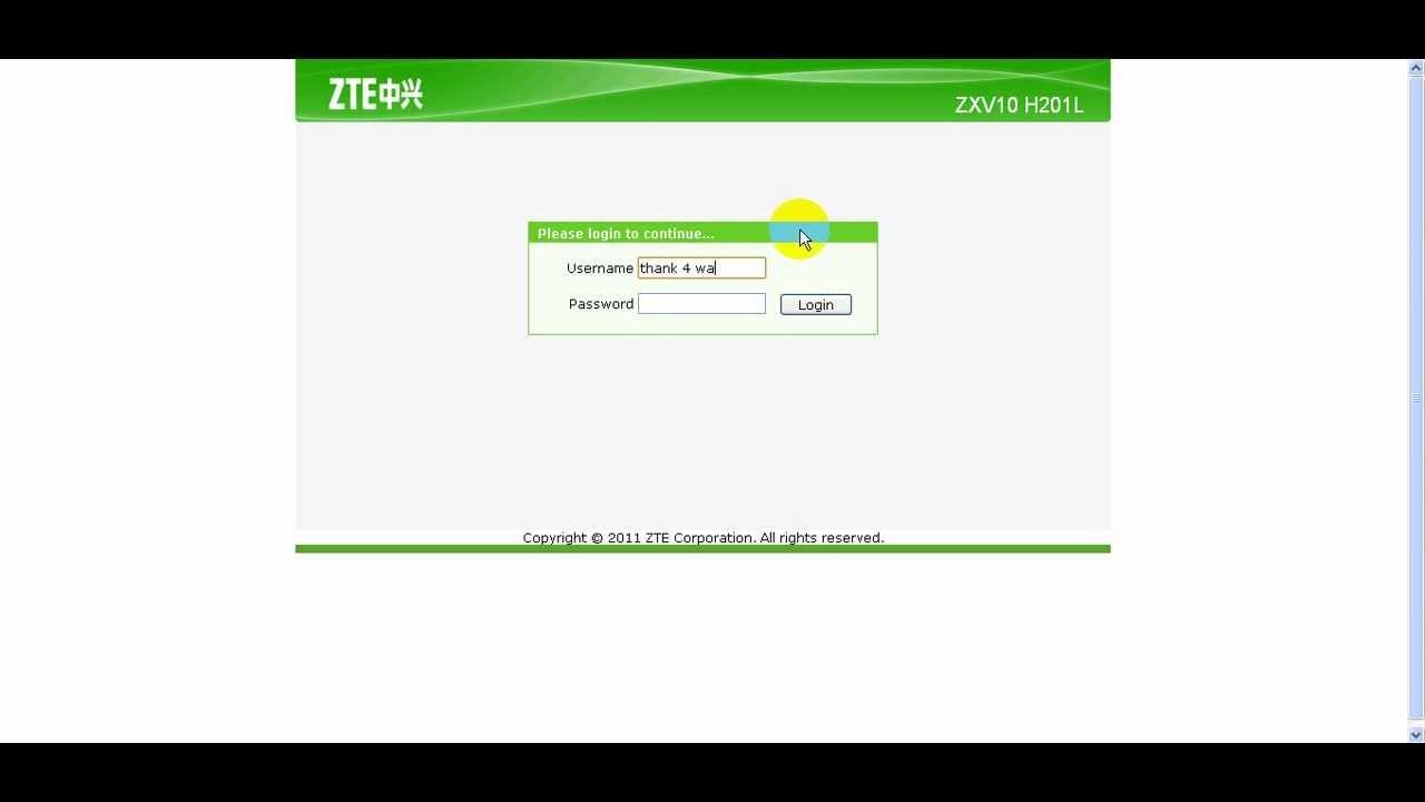 ZXV10 H201L