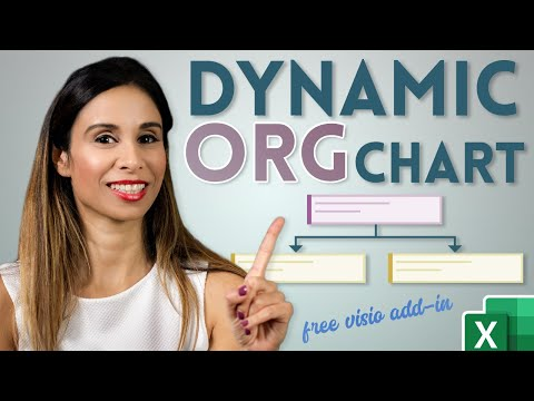 How to Create an Organizational Chart Linked to Data in Excel (Easy & Dynamic)
