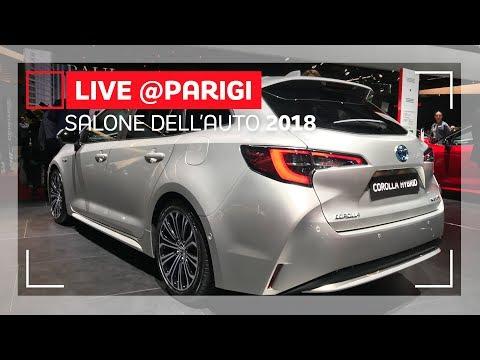 Toyota Corolla Touring Sports, il nuovo nome della Wagon | Salone di Parigi 2018