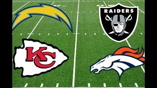 2018 AFC West Predictions: Chargers Will Win Title