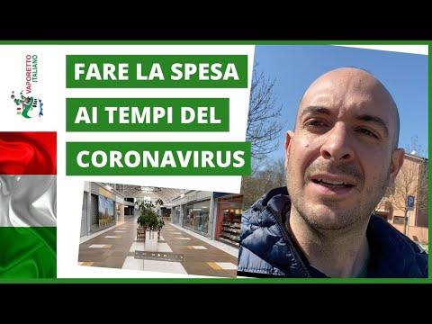 VLOG 1: Fare la spesa in Italia durante la quarantena (Sottotitoli in italiano e inglese)