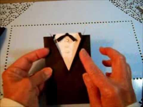 Tuxedo Favor Bags for Weddings Prom GraduationTUTORIAL  YouTube