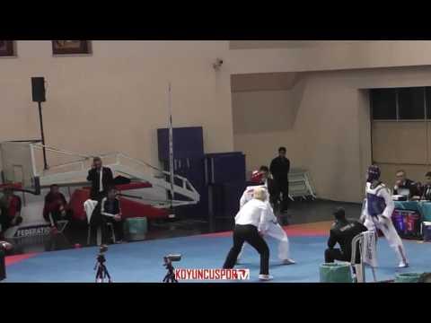 63kg Ferhat Can Kavurat vs Huseyin Bezci (2017 Turkish Senyor TKD Championships)