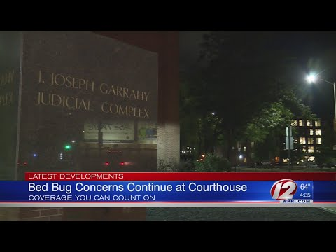 RI union wants courthouse shut down due to bed bugs