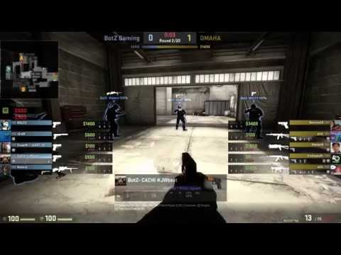 [CS:GO] BotZ vs OMAHA (de_cache / TeamSpeak chat ESP)
