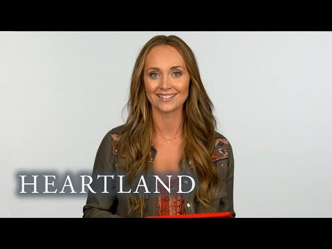 Amber Marshall Breaks Down A Scene From The First Episode Of Heartland
