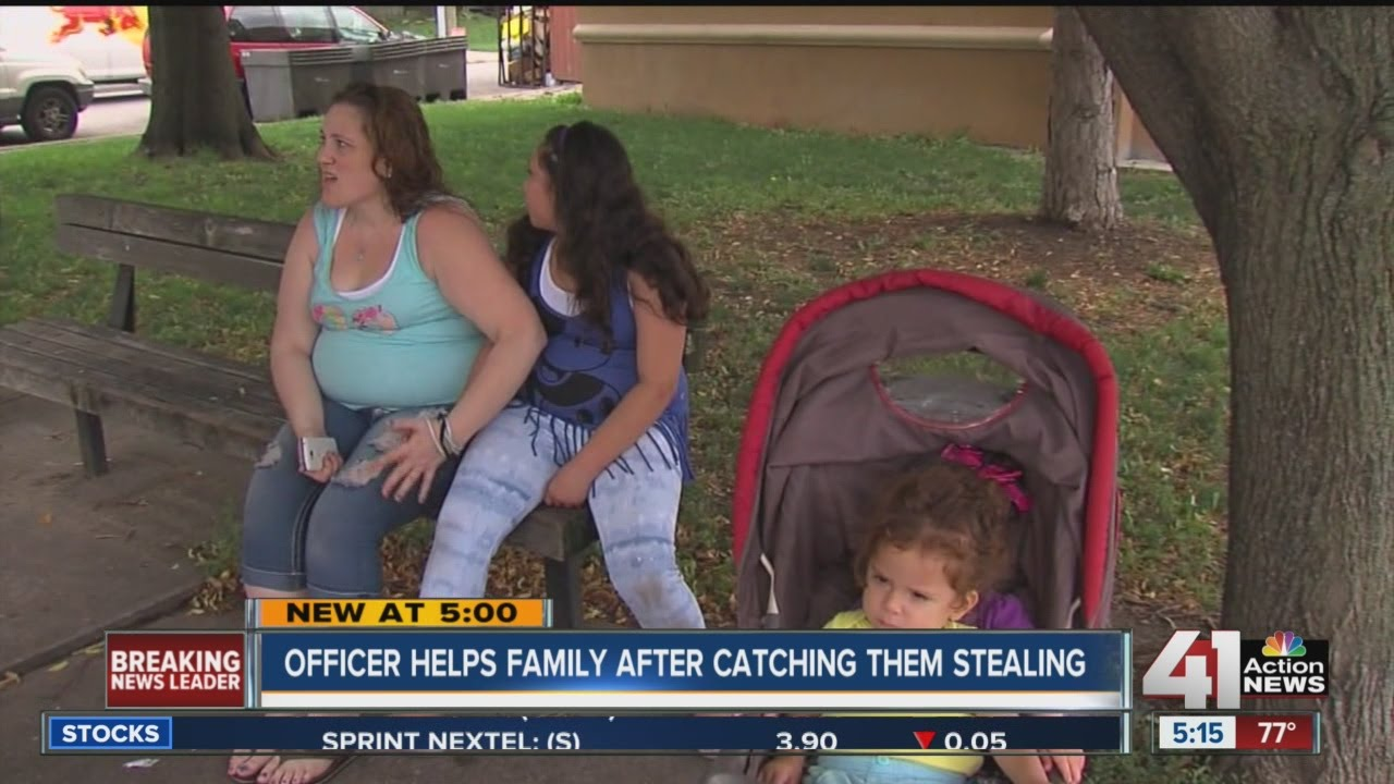 Roeland Park officer responds to call of woman shoplifting, buys the items for her
