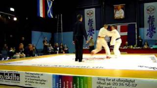Kyokushin Danish Open 2010 - David Schultz vs. Schröter - Vordingborg - Semi Contact up to 71kg