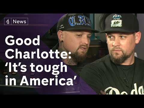 Good Charlotte  on the opioid crisis and the American Dream