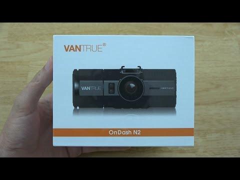 Vantrue N2 Dual Dash Cam Unboxing And Review!
