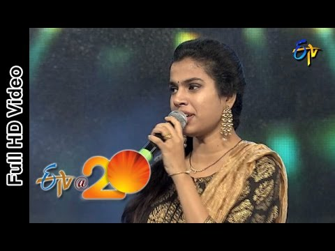 Sravana Bhargavi Performance - Jyothi Lakshmi Song in Rajamandry ETV @ 20 Celebrations