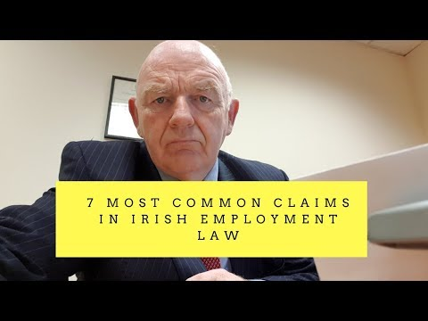 7 Most Common Employment Claims in Irish Employment Law