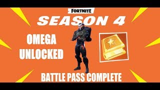 XBOX ONE Fortnite Battle Royale Omega Unlocked.