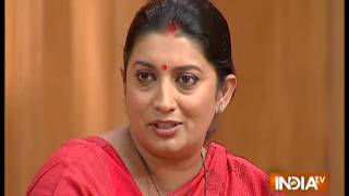 Smriti Irani On The Reservation Quota In the Colleges - India TV
