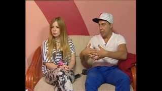 Саша Балакирева и Макс Берестов в студии ТК