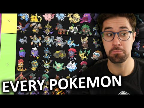 Ranking EVERY Pokemon Competively... AGAIN