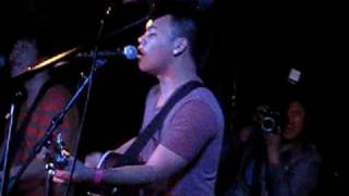 AJ Rafael - Bad Romance and Hanging By a Moment (cover, Chain Reaction 1/10/10)