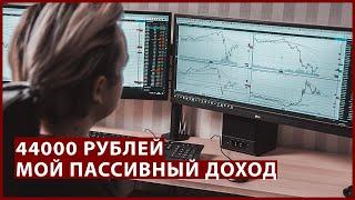 Теперь мой пассивный доход – 44000 рублей в месяц