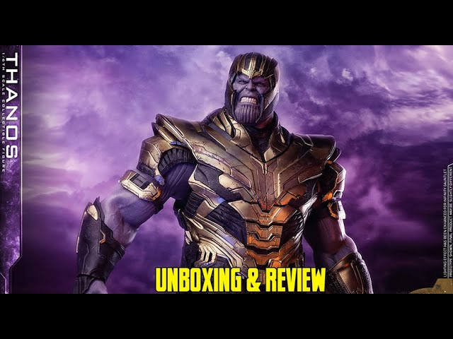 "cSc News: Hot Toys - Avengers 4: Endgame - Thanos 12"" Action Figure Unboxing & Review"