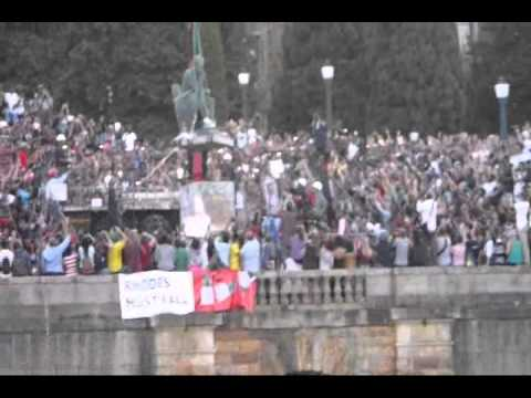 Rhodes Finally Falls (Cecil Rhodes statue removed - raw footage)